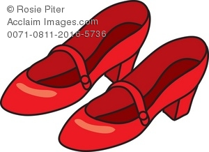300x218 Shoe Clipart Red Shoe