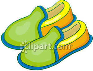300x230 Slipper Art Clipart
