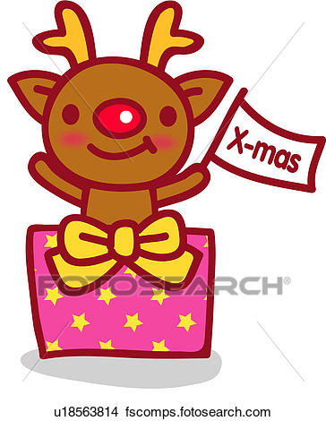 364x470 Clipart Of Rudolph, Christmas, Red Nosed Reindeer, Reindeer, X Mas