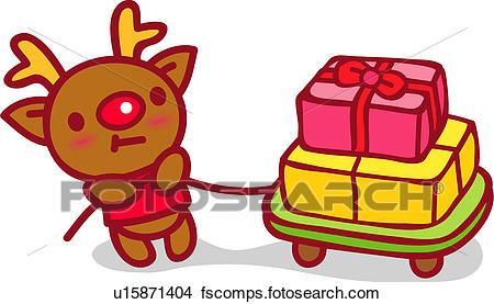 450x277 Clipart Of Red Nosed Reindeer, Animal, Reindeer, X Mas, Christmas