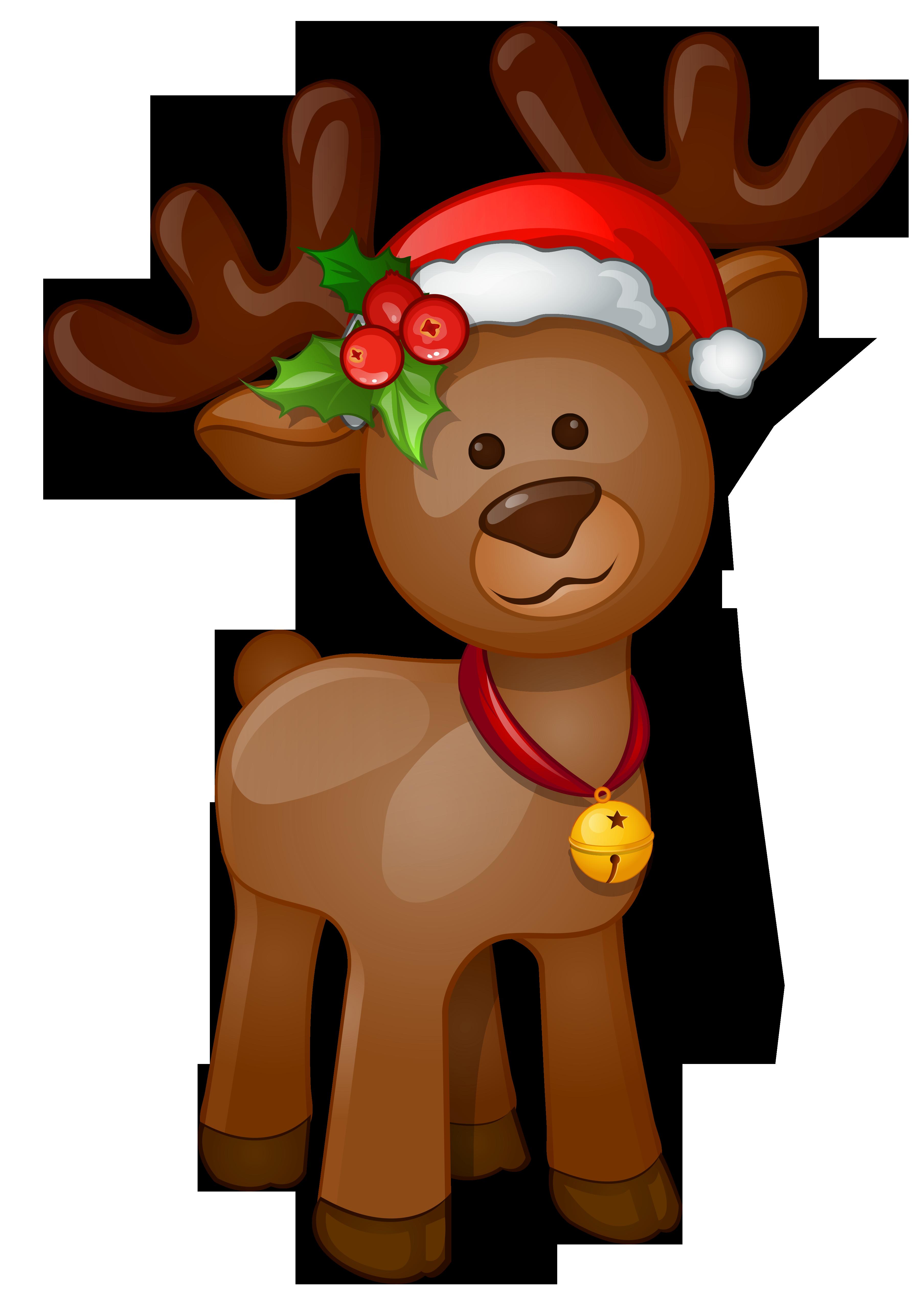 3615x5054 Rudolph Clipart
