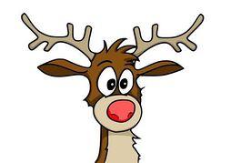 254x179 Rudolph The Reindeer Clipart