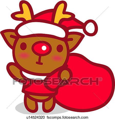 450x466 Clipart Of Red Nosed Reindeer, Animal, Reindeer, X Mas, Christmas