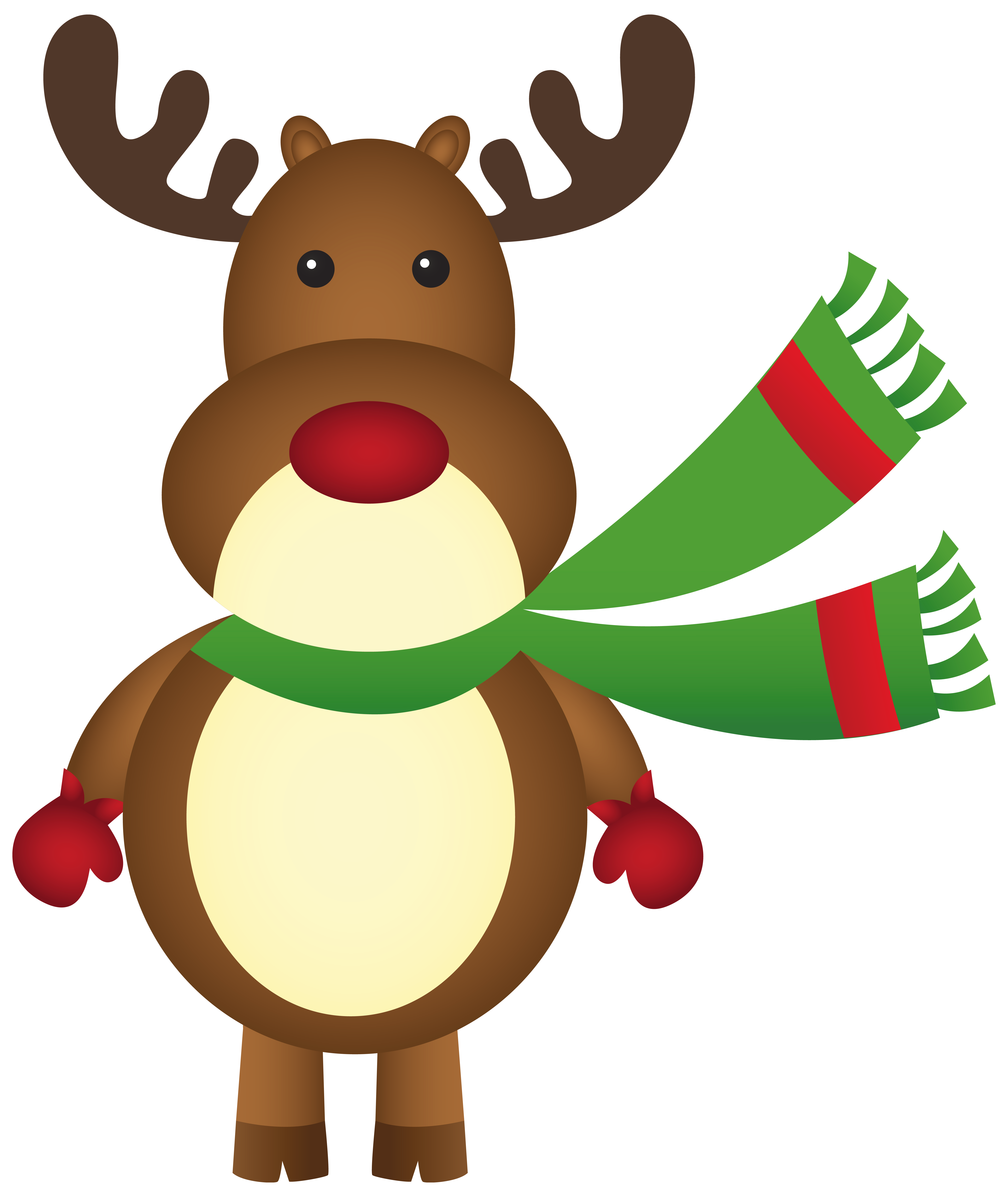 Rudolph The Red Nosed Reindeer Clipart | Free download on ...
