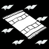 160x160 Clip Art Black And White Rug Clipart