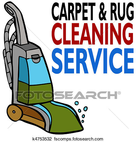 450x470 Clipart Of Carpet Cleaning Service K4753532