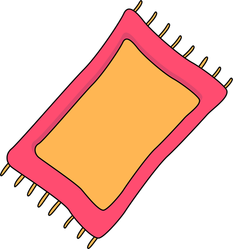 468x500 Pink Rug Clip Art