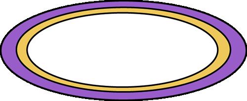 500x206 Purple Oval Rug Clip Art