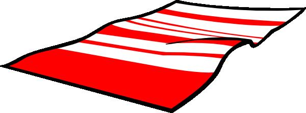 600x223 Towel Clipart Picnic Rug