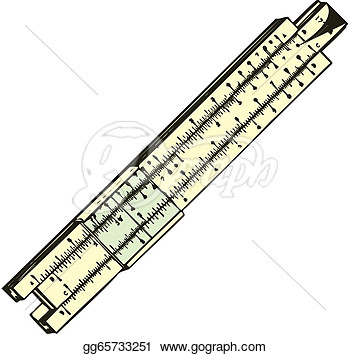 350x354 Wooden Ruler Clipart