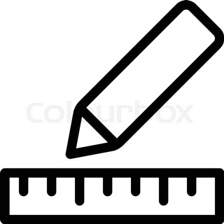 320x320 Set Of Drawing Tools. Engineering Symbol. Vector Clip Art Stock