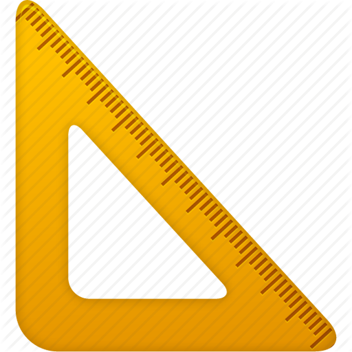 512x512 Education, Math, Measure, Ruler, School, Study, Tool, Tools