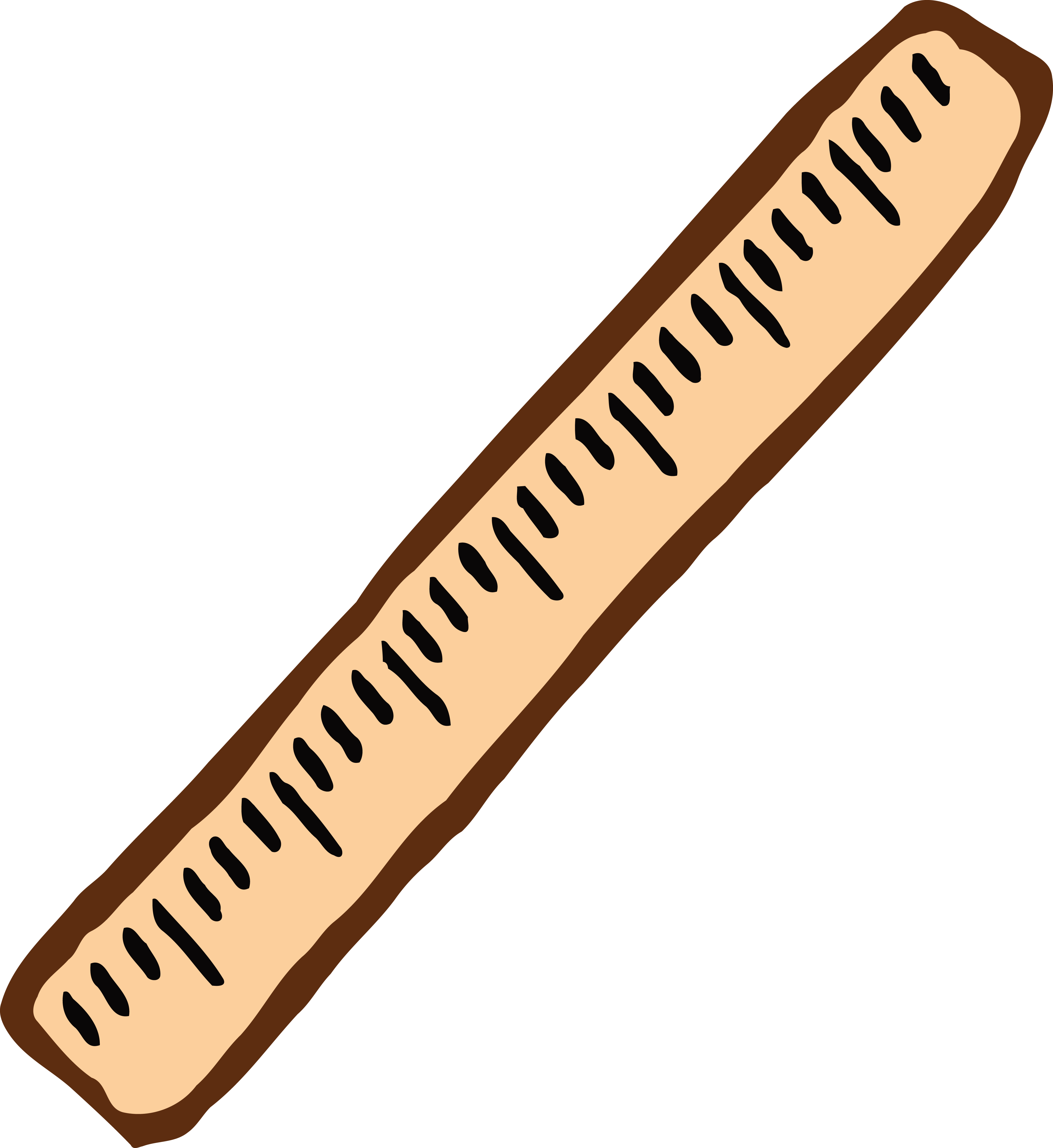 4000x4361 Free Clipart Of A Ruler