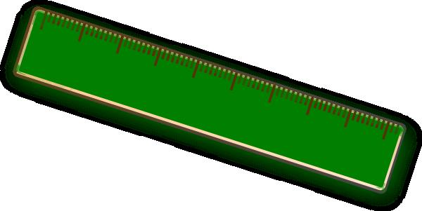 600x301 Ruler Clip Art