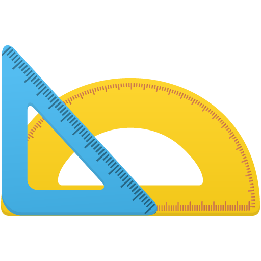 512x512 Triangle Ruler And Protractor Png Image Royalty Free Stock Png