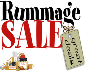 300x250 Upcoming Events Monster Rummage Sale First Dibs Pre Sale Party