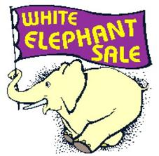 227x222 Free White Elephant Sale Clipart