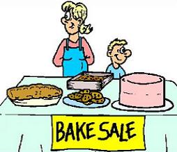 254x219 Free Bake Sale Clipart