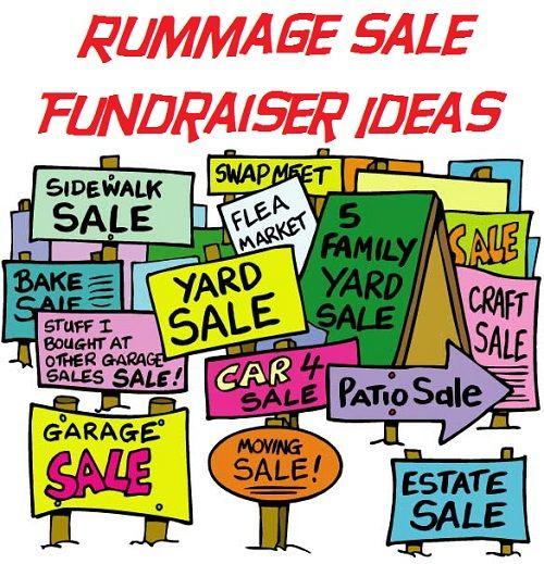 500x519 The Best Rummage Sale Ideas Rummage Sales Near