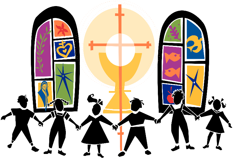 800x545 Church Workers Clipart