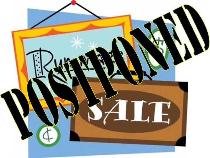 714x537 My Heart Goes Out Rummage Sale Canceled