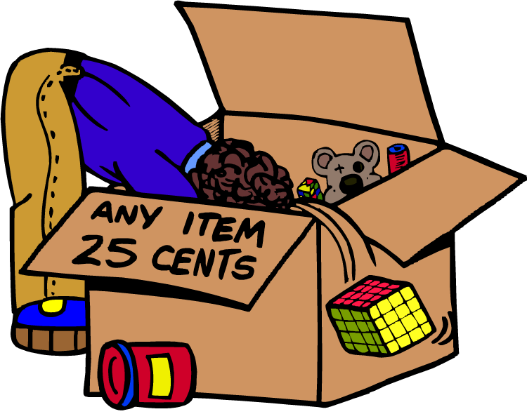 750x590 Products Clipart Rummage Sale