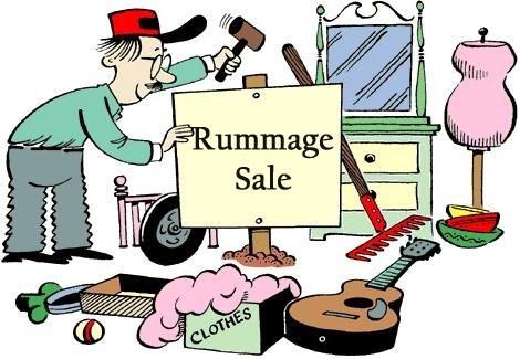 470x325 Rummage Sale Mother Of Necessity