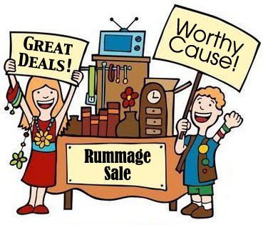 369x315 Rummage Sale Graphic New Hope Ladies