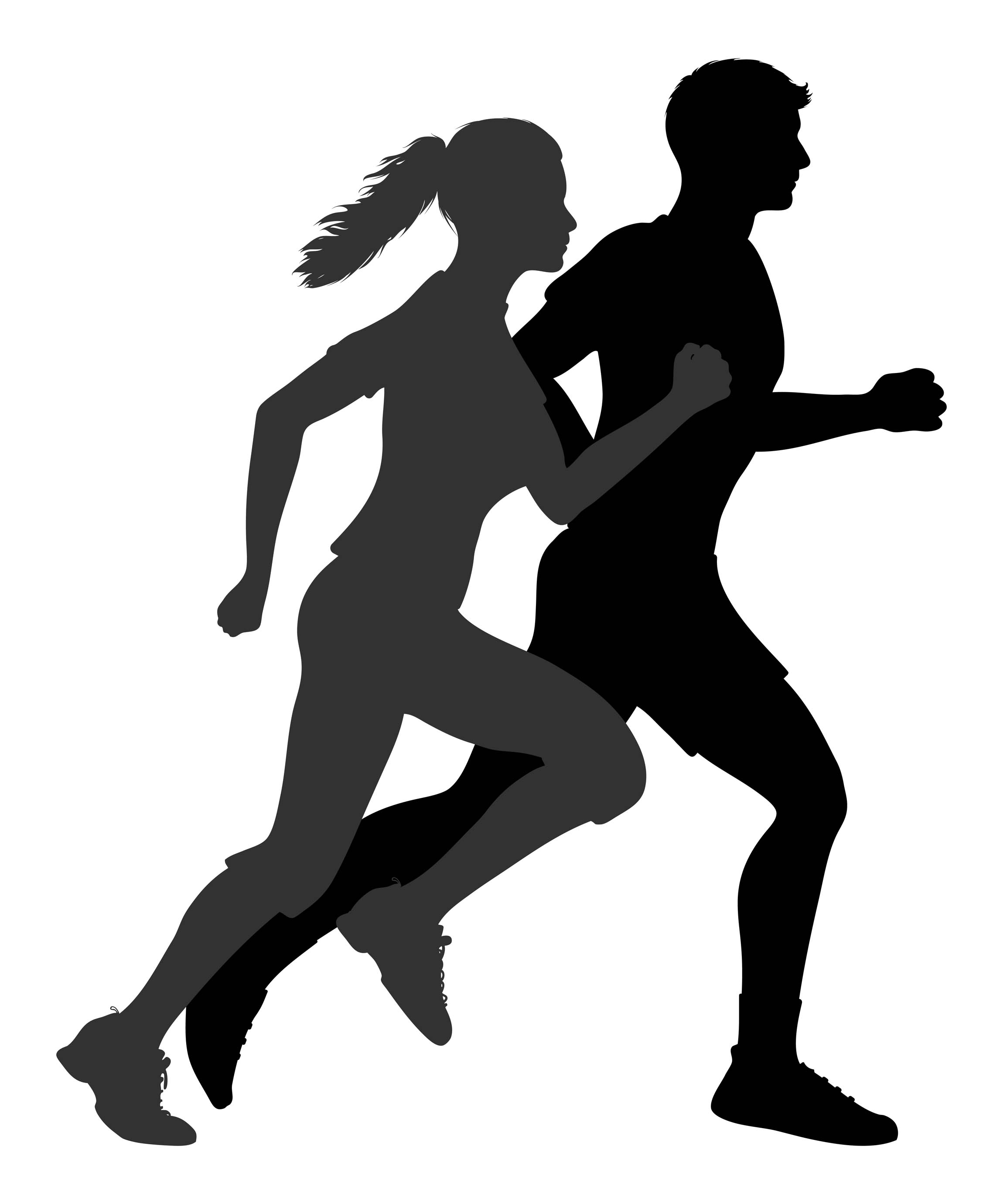 2300x2760 Runner Exercise Running Clipartllection