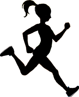 304x372 Girl Running Running Girl Free Download Clip Art On Clipart 3
