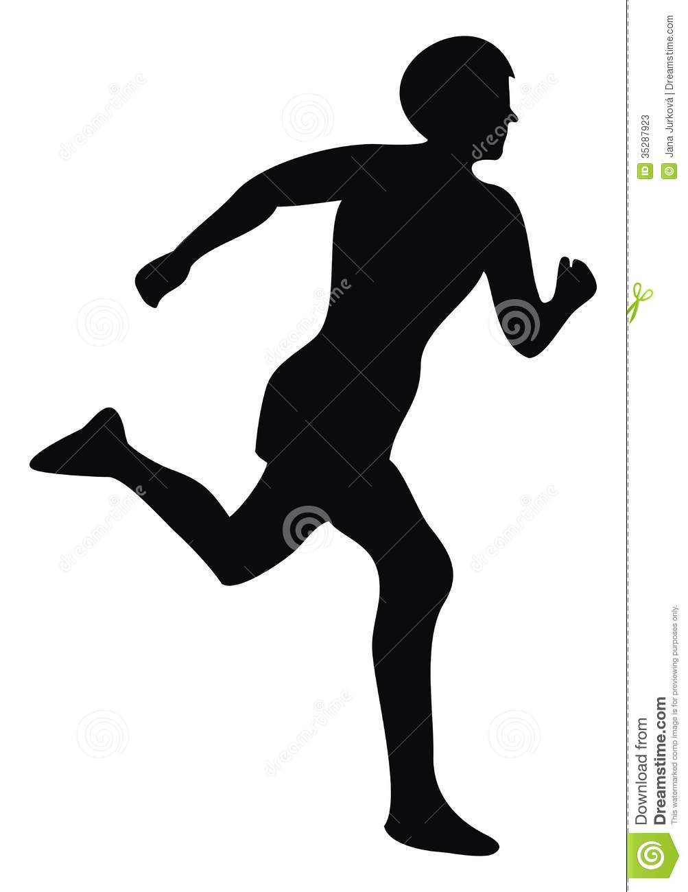 1003x1300 Athlete Silhouette Clipart