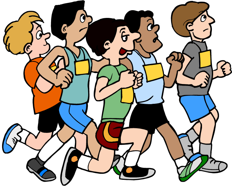 750x602 Race Clipart Cross Country Running