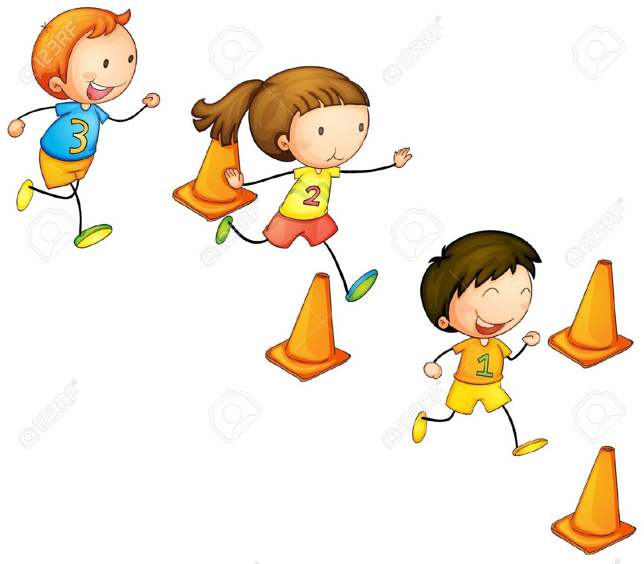 1300x1138 Race Clipart Friendly Kid