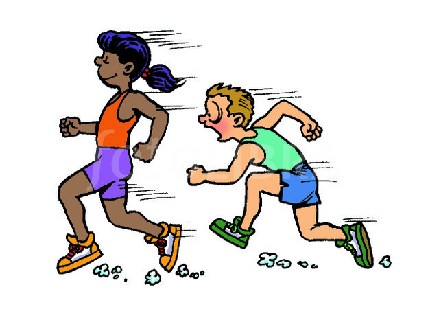 624x466 Race Clipart Runner
