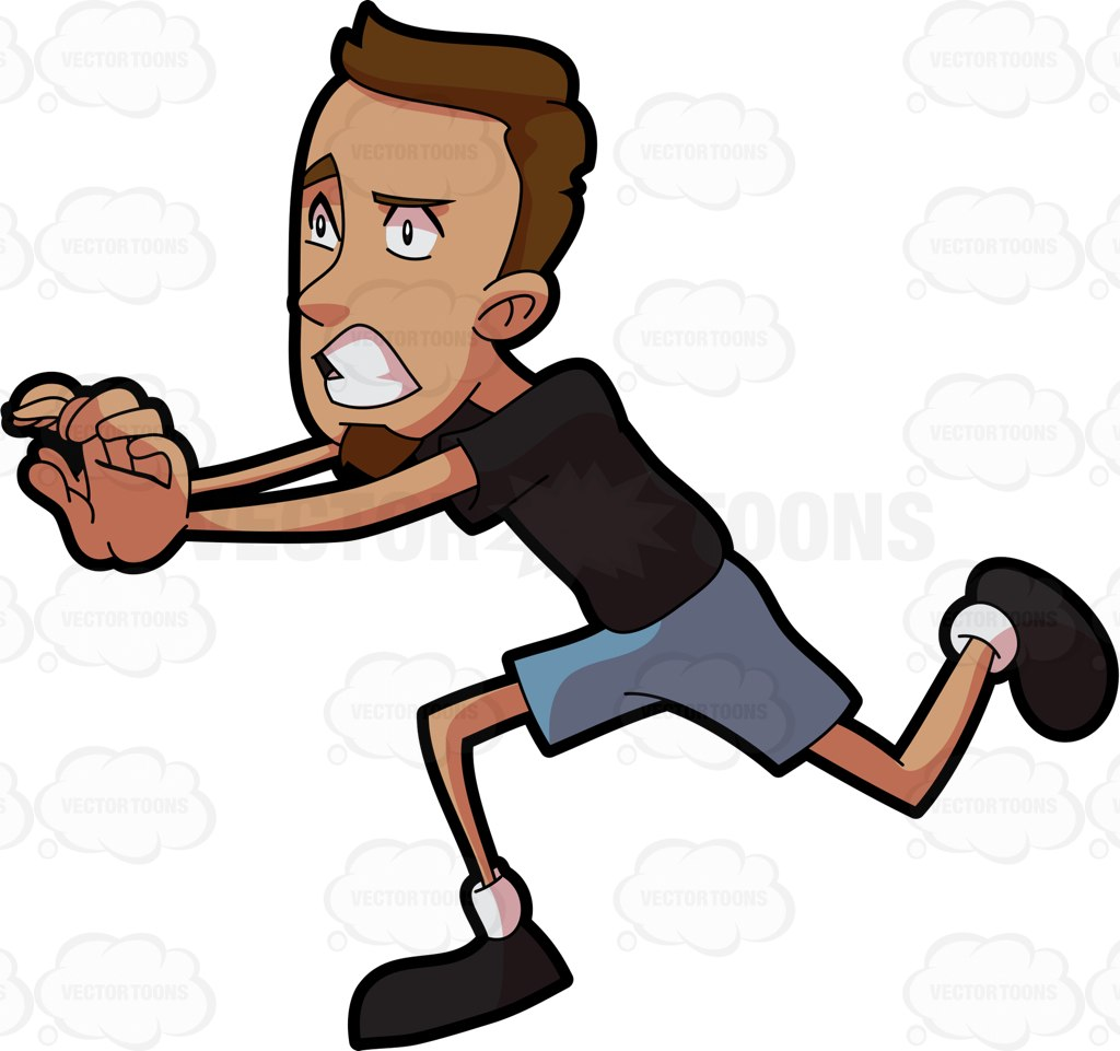 1024x961 Man Clipart Running Away