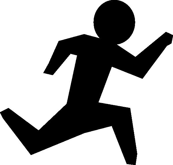 600x570 Running Man Clip Art
