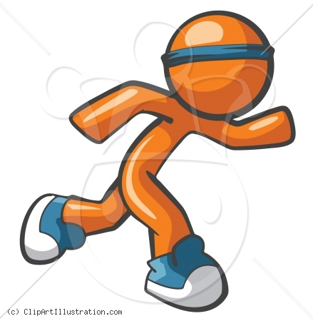 Running Clipart