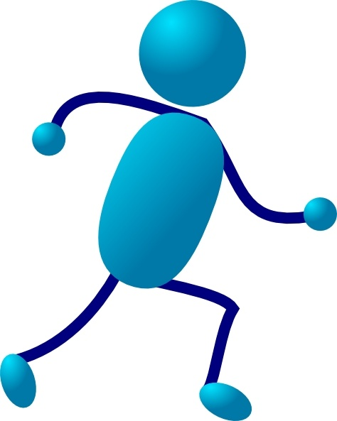 474x593 Stick Man Running Clip Art Free Vector In Open Office Drawing Svg