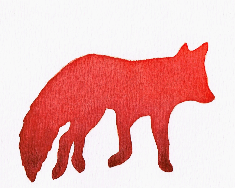 1500x1201 Czeshop Images Fox Silhouette