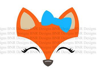 340x270 Fox Silhouette Etsy