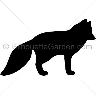 336x334 Polar Fox Clipart Shadow