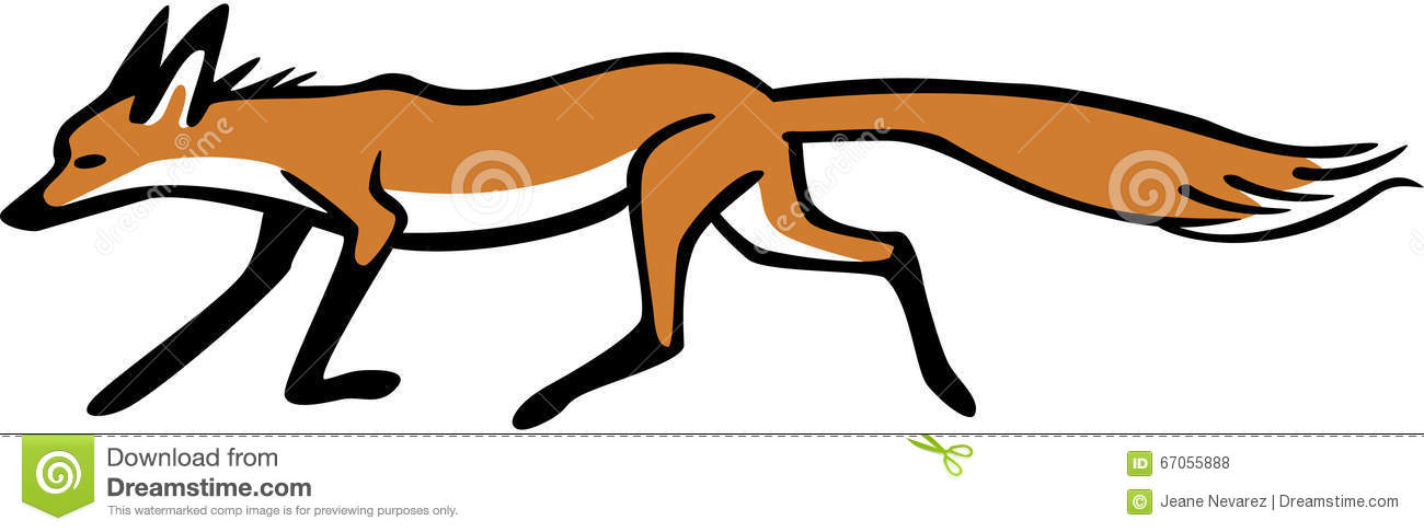 1300x486 Running Fox Clipart Thewealthbuilding