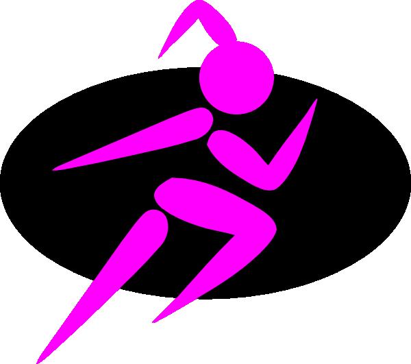 600x531 Finish Strong Running Girl Clip Art