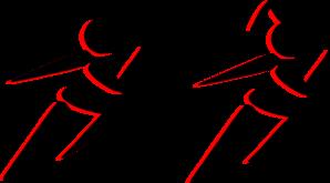 298x165 Boy And Girl Running Clip Art