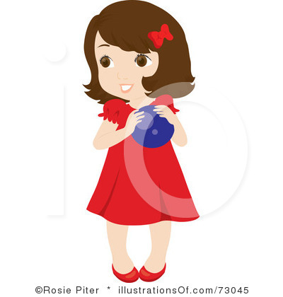 400x420 Little Girl Clipart