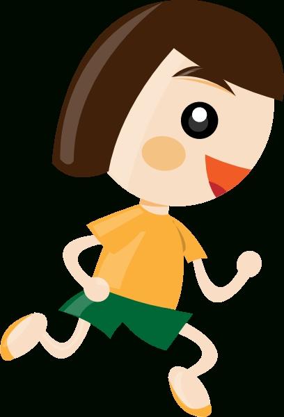 408x600 Girl Running Running Girl Clipart Free Download Clip Art