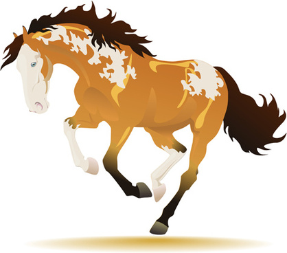 418x368 Running Horse Clip Art Free Vector Download (213,804 Free Vector