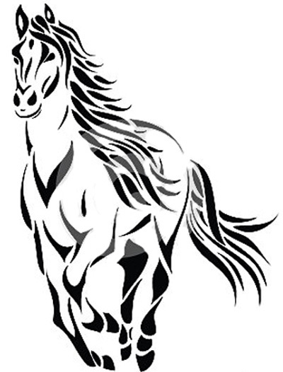 400x526 Best Horse Tattoos