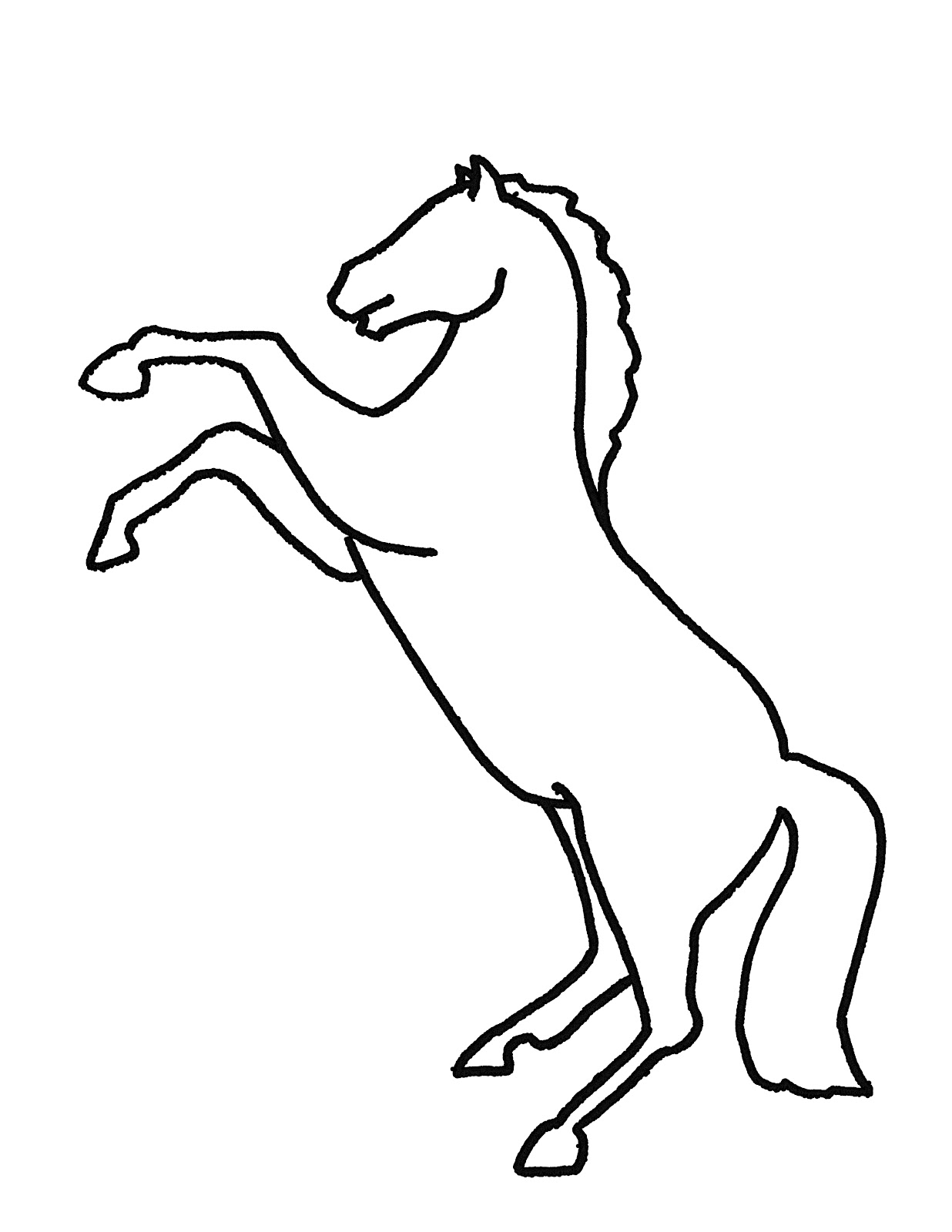 1236x1600 Brilliant Ideas Of Picture Of A Running Horse Free Clip Art Best