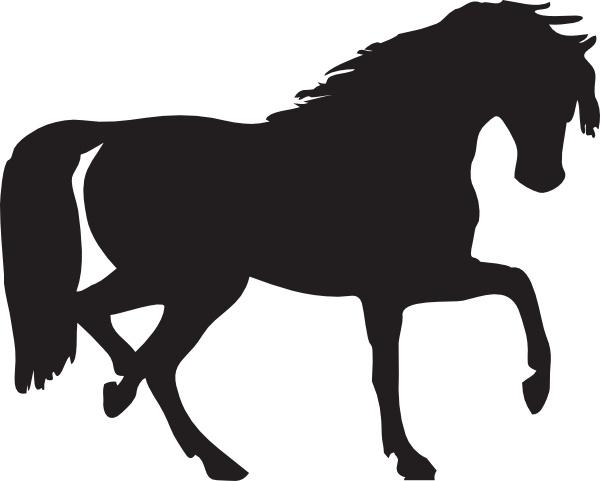 600x481 Horse Silhouette Clip Art